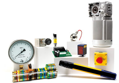 Group shot of various products supplied by OEM Automatic