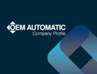 front cover for OEM Automatic company profile