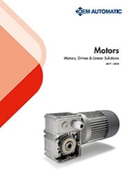 OEM Automatic's Motors department 2017 to 2018 overview brochure front cover