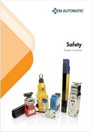 OEM Automatic's Safety overview brochure front cover