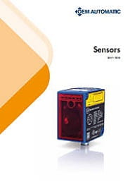 OEM Automatic's sensors overview brochure front cover