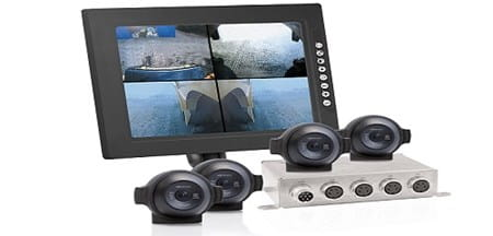 Orlaco range of vehicle cameras, monitors and switches