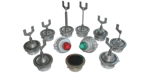 Range of Valco LPM level switches