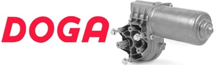 Doga logo and motor 319H
