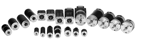 Range of Fulling brushless motors