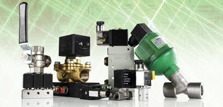 Range of solenoid valves from ASCO and Sirai