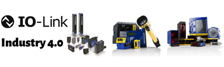 Range of products from datalogic, including light curtains, sensors, cameras and barcode scanners