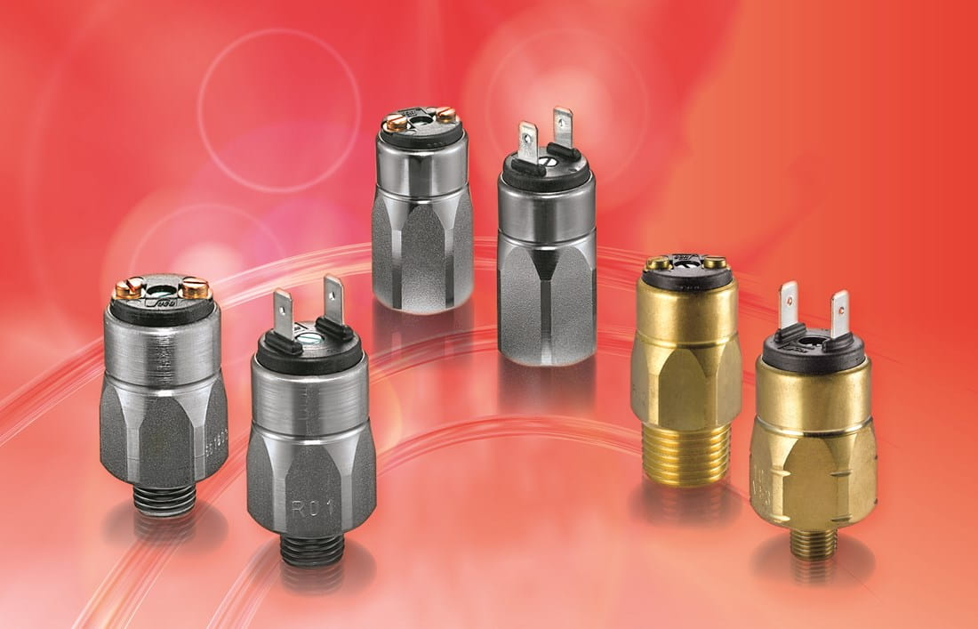 Range of Suco mechanical pressure switches