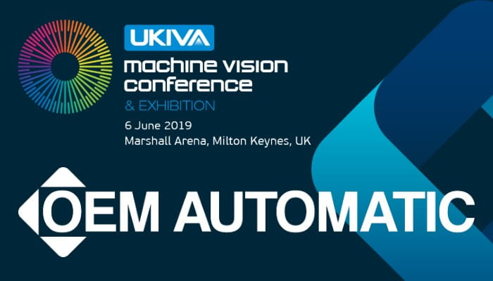 UKIVA Machine Vision Conference and exhibition logo 2019