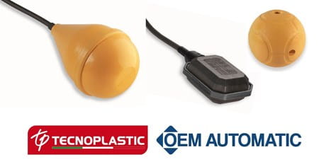 Tecnoplastic float switches and shell counterweight