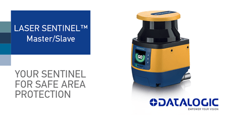 Datalogic Laser Sentinel Master/Slave, your sentinel for safe area protection