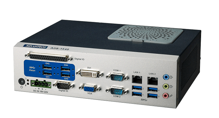 Industrial vision PC from Advantech