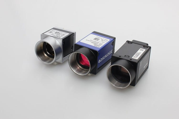 Three machine vision cameras from Sony, Datalogic and Basler