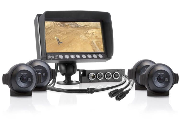 Orlaco vehicle cameras, monitors and connecting cables