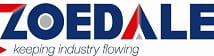 Zoedale logo, keeping industry flowing