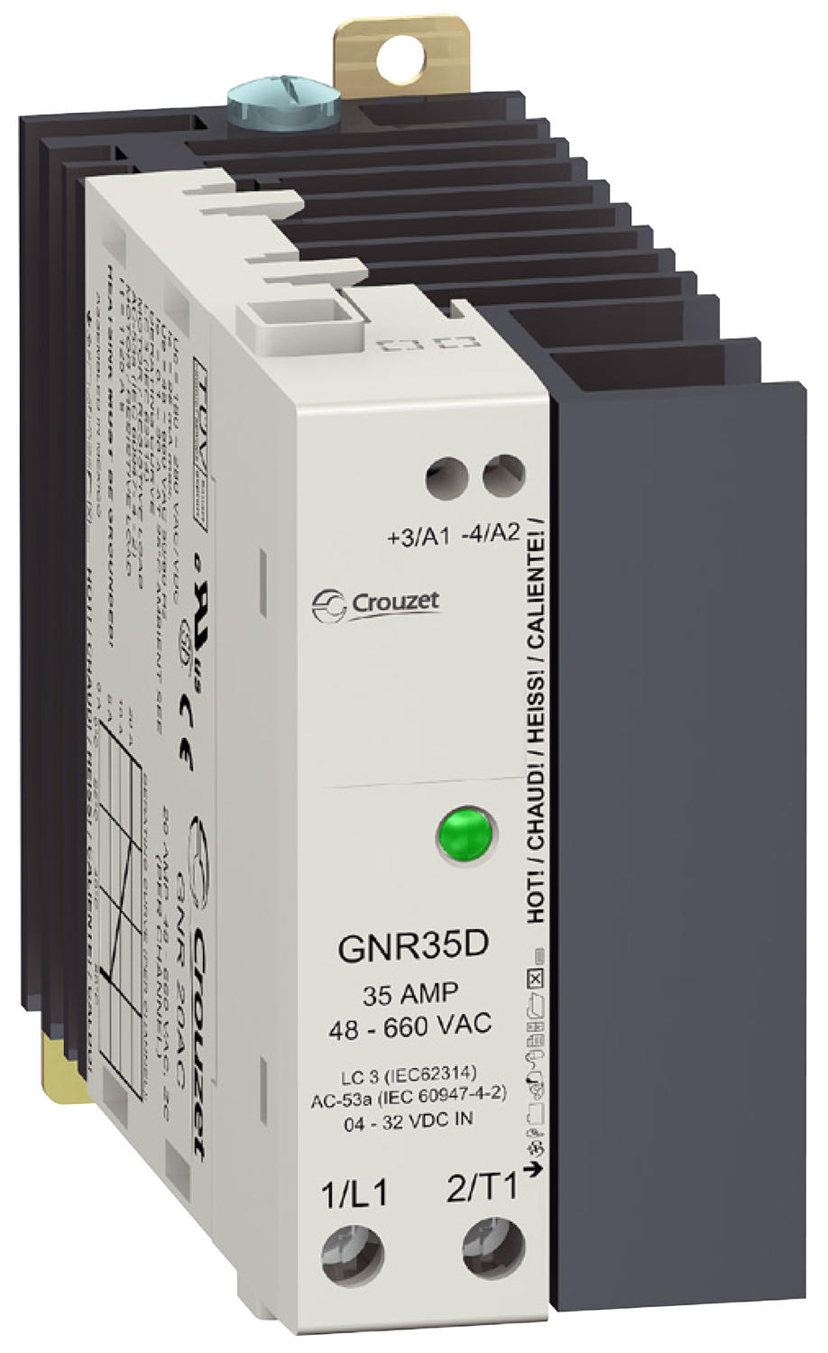 GNR Series 45mm Relay