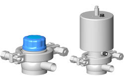 Definox - Sampling outlet diaphragm valve