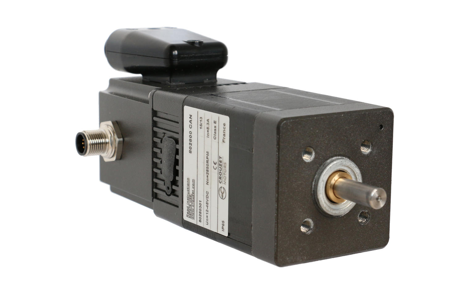 BLDC SQ57 motor with integrated SMi21 CANopen drive