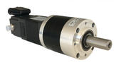 BLDC geared motor with integrated SMi21 drive & CANopen network
