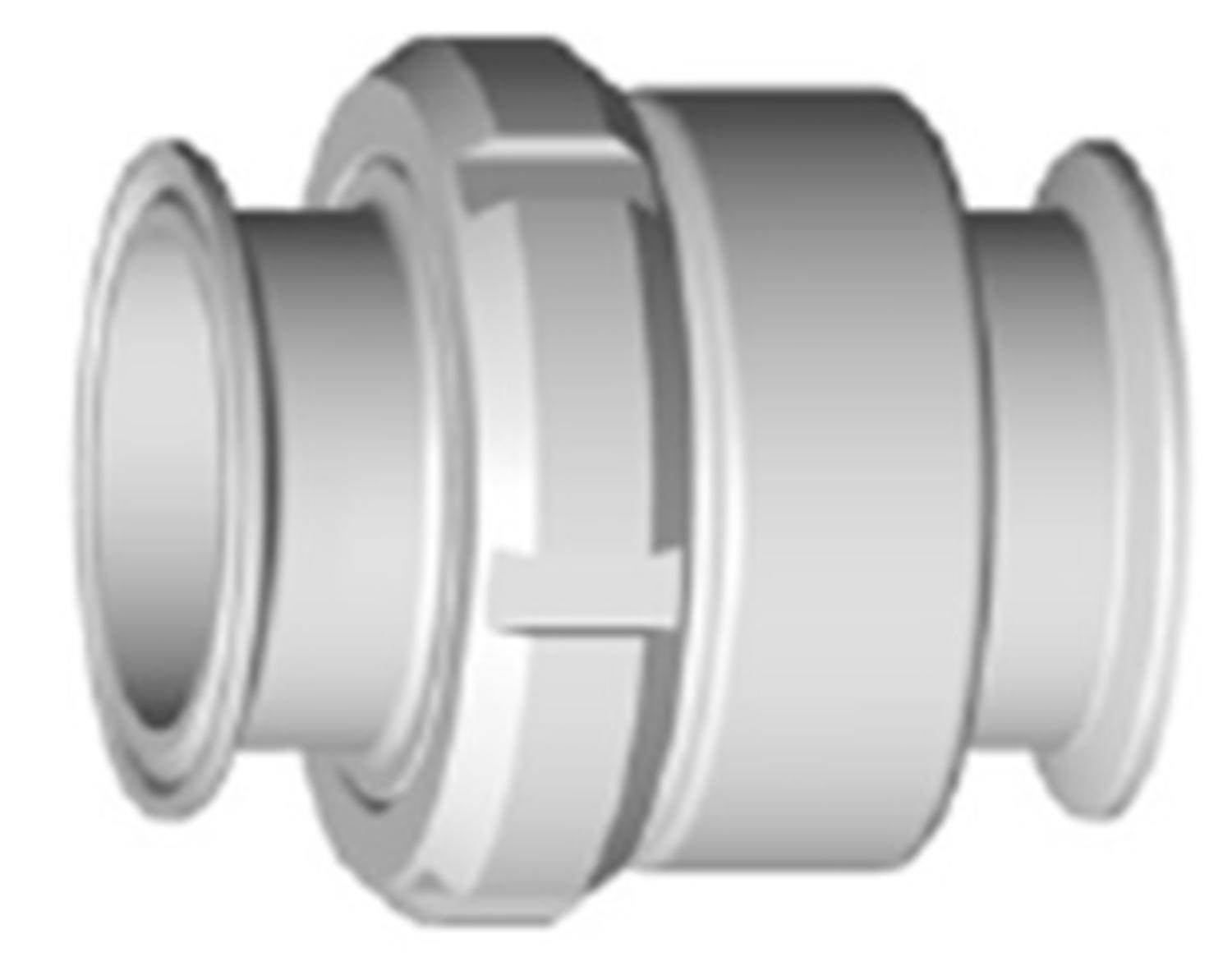 Check valve with Clamp ends