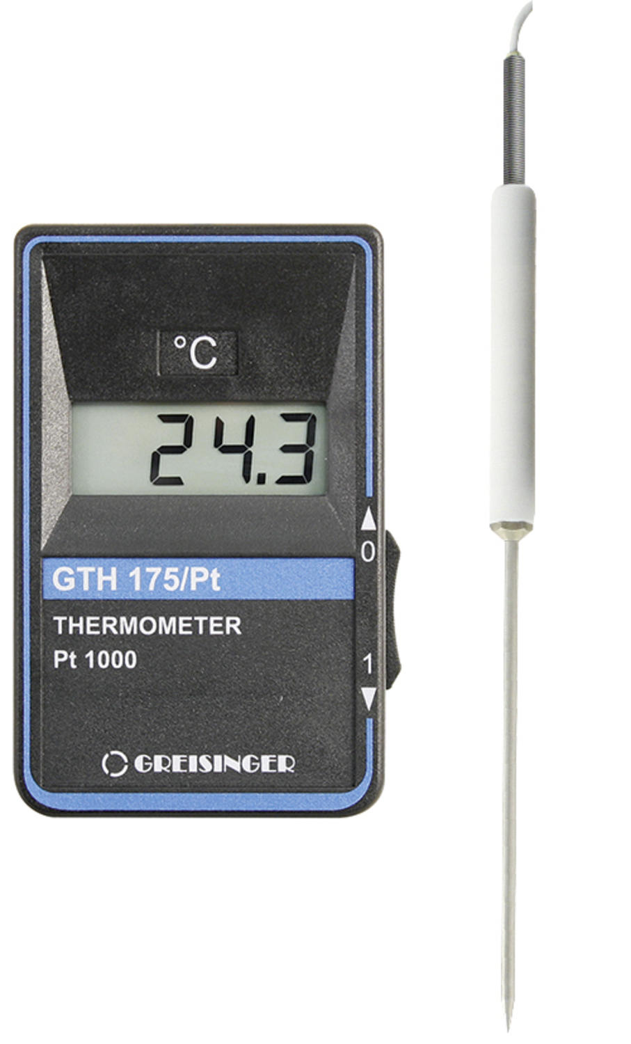 Precision Pocket Thermometer with PT1000 Probe