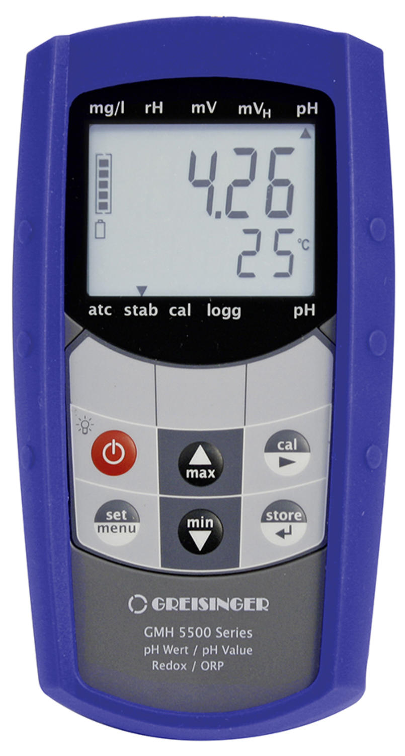Waterproof Handheld Measuring Device for PH/REDOX