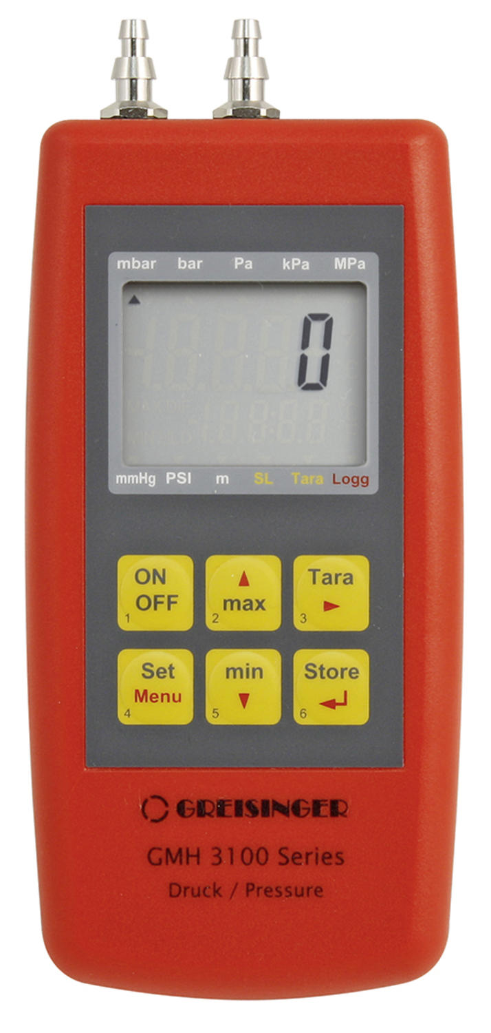 Manometer for Over/Under Pressure or Presssure Difference