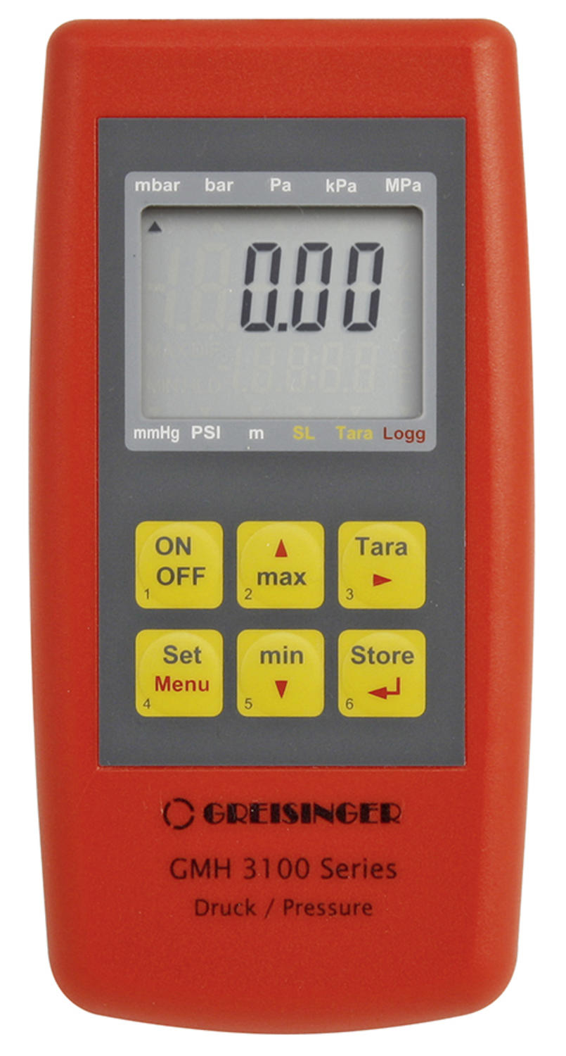 Pressure Measuring Device with Logger