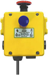 IDEM - Explosion proof emergency stop switches - GLES