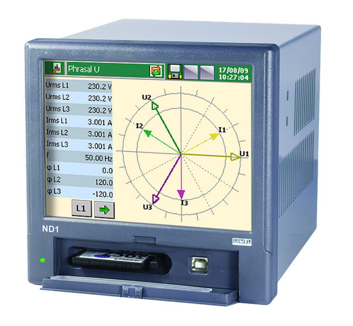 3-Phase Network Meter, ND1