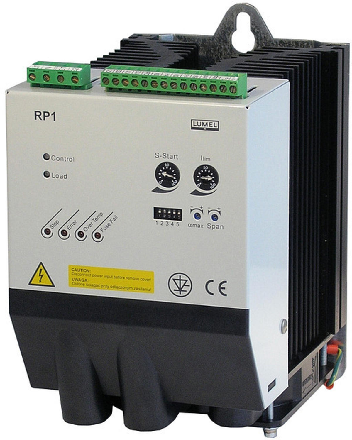 Lumel - RP1 single phase power controller