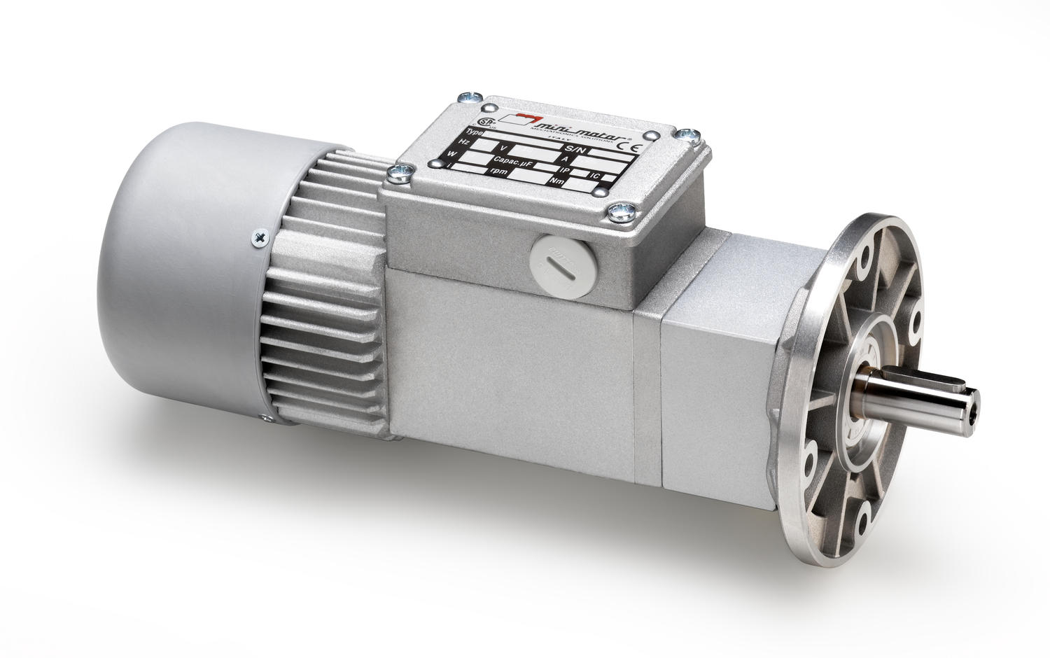 ACCE coaxial gear motor with further planetary reduction