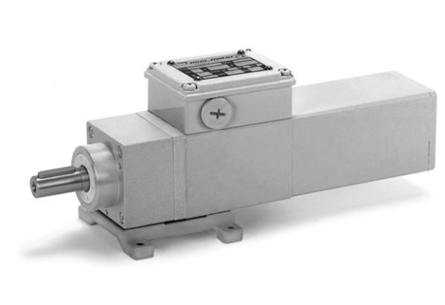 ACEF coaxial gear motors with further planetary gear