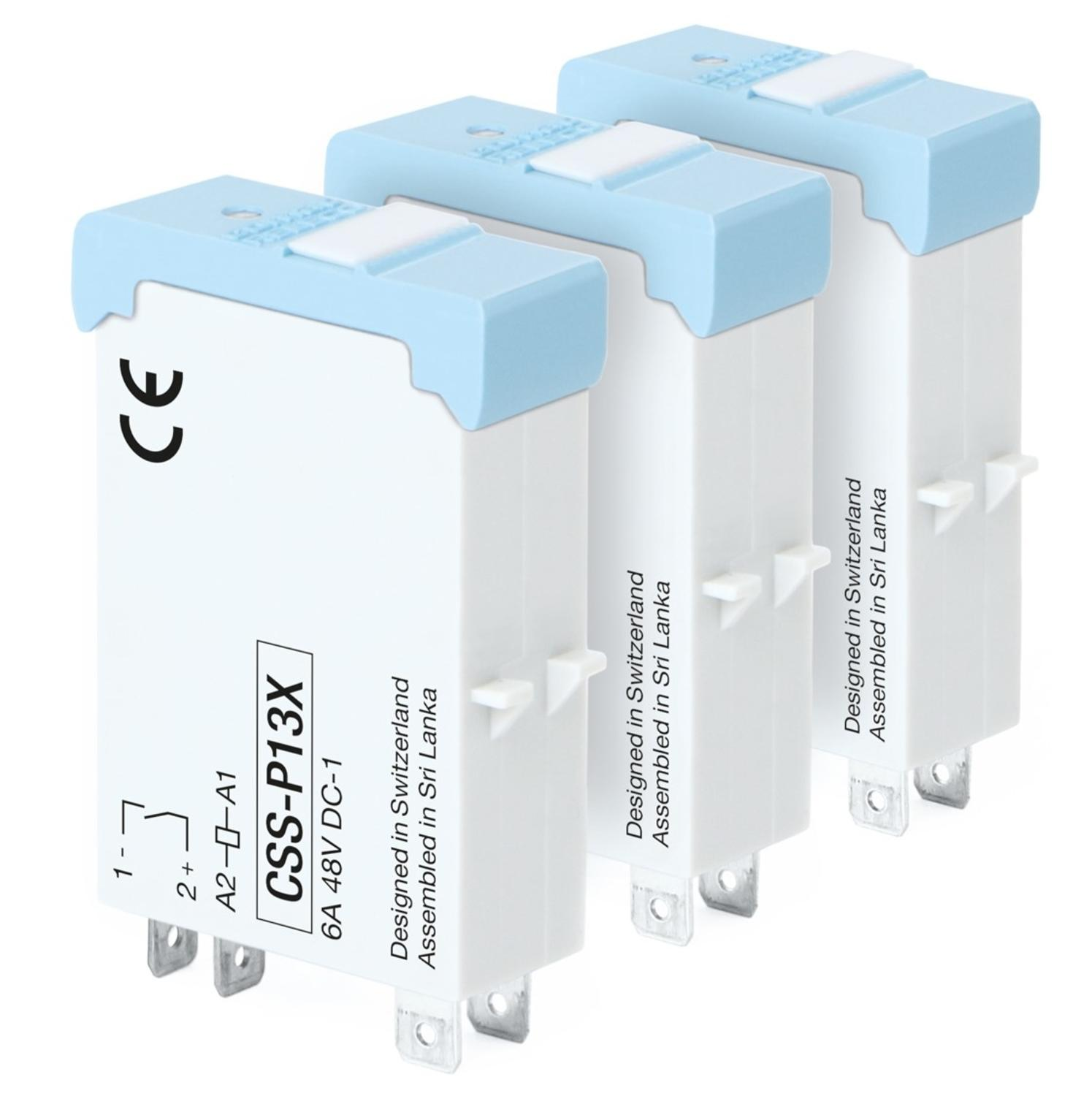 1-pole static interface relay