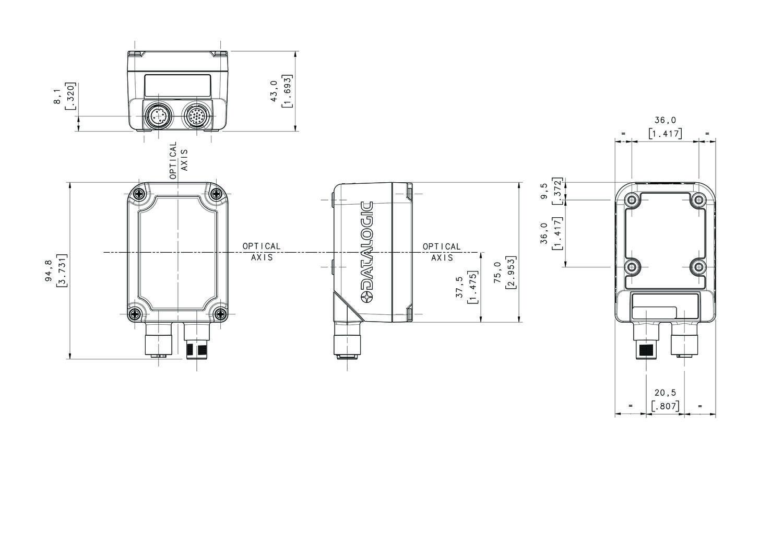 Matrix 300N™ High Performance Compact industrial 1D/2D