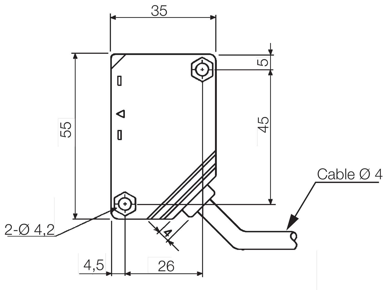 ne compact multivoltage photosensor relay output