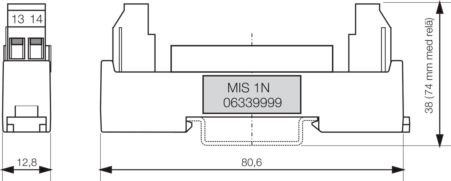 sli input relay for ma loads
