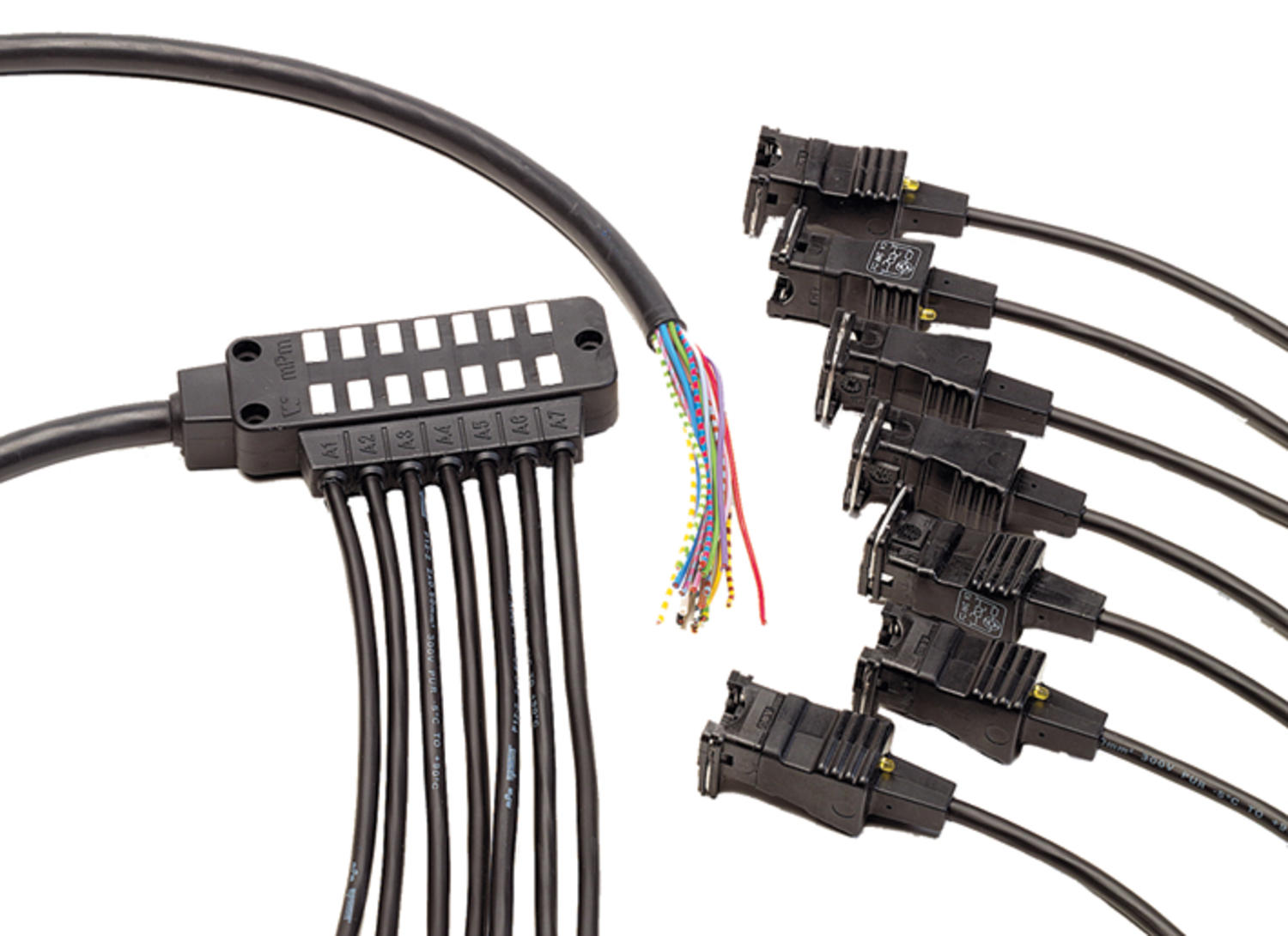 mpm DIN-splitter / Mini-splitter / Y-cable harness