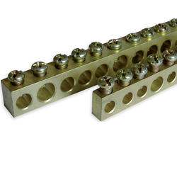 Brass Earth distribution terminals