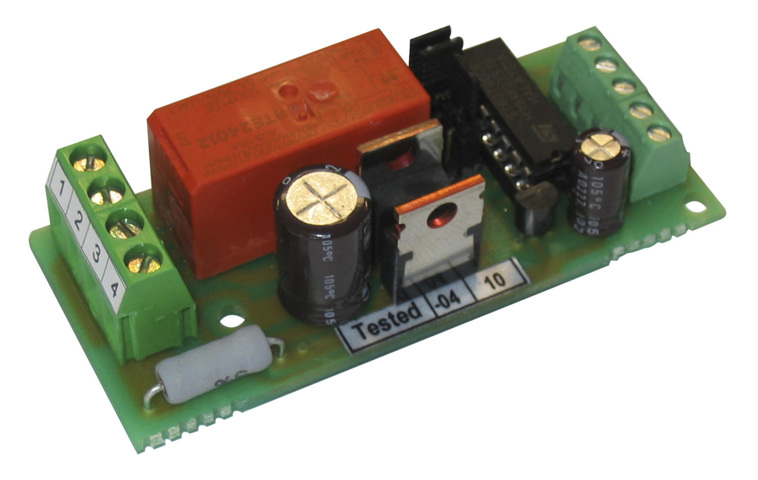 EM-165 DC motor positioning drive 12-32 V dc, 5 A, analogue FB