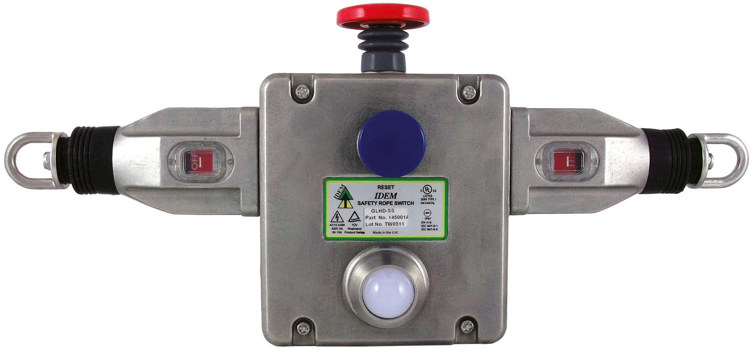 GLHD-SS wire switch in stainless steel