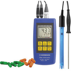 Greisinger handheld measuring device with probes