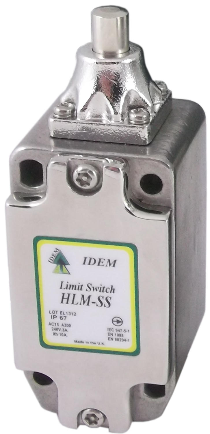 Safety limit switch- HLM-SS (stainless steel)
