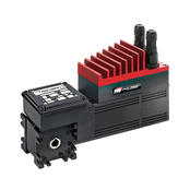 MCDBS brushless servomotors with worm gearbox