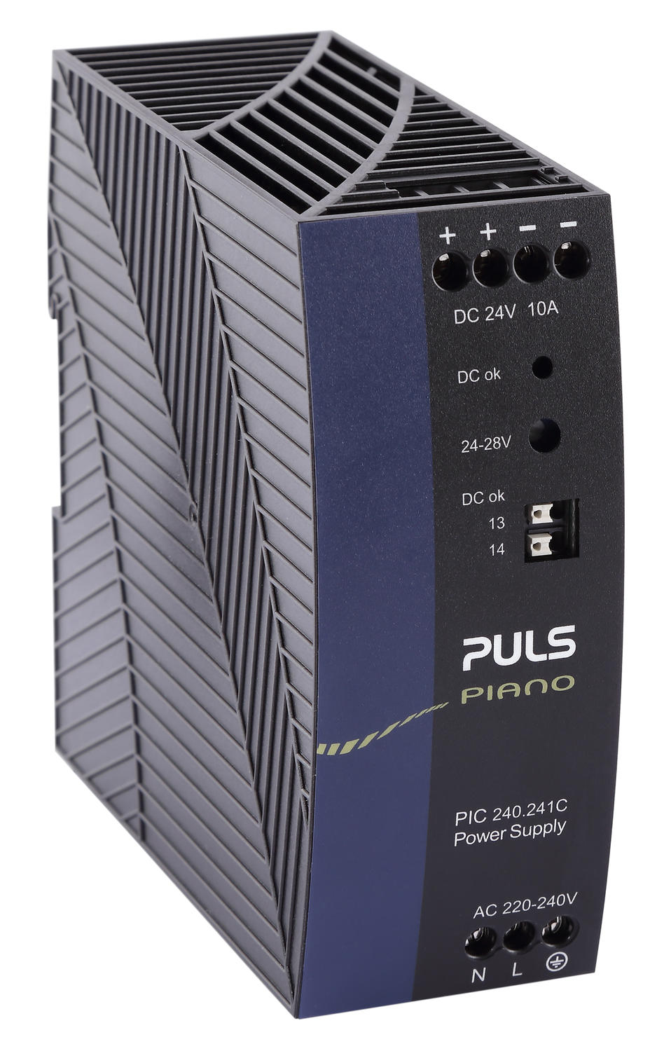 Power supply 1-phase, 24 V dc Piano Series