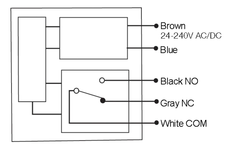 NE compact multivoltage photosensor relay output NEM5RD - OEM