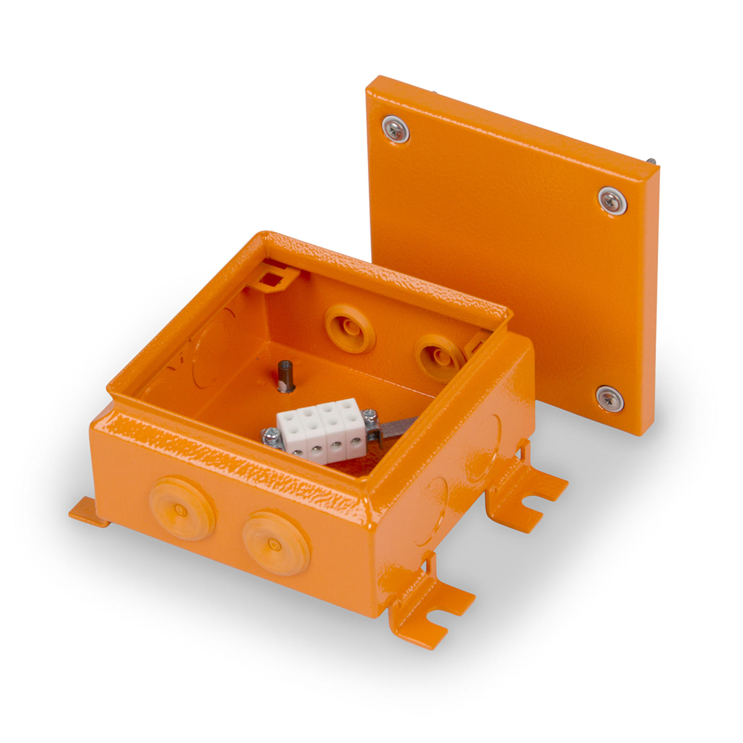 Fire protection junction boxes – Steel